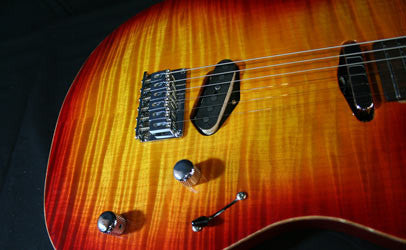 Melancon Custom Artist T Cherry Sunbust Bridge