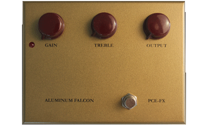 Piedmont Custom Electronics (PCE-FX) Aluminum Falcon I Overdrive Guitar Effects Pedal