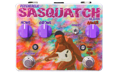 Tortuga Effects Psychedelic Sasquatch Custom Shop