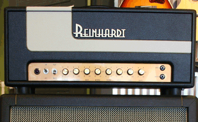 Reinhardt Storm 33 Head Black