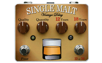 Tortuga Effects Single Malt Delay