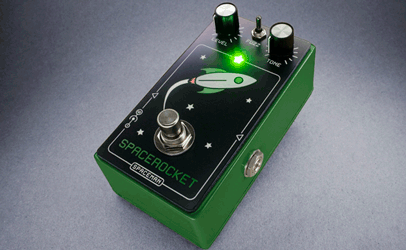Spaceman Spacerocket Fuzz Liited Edition Green