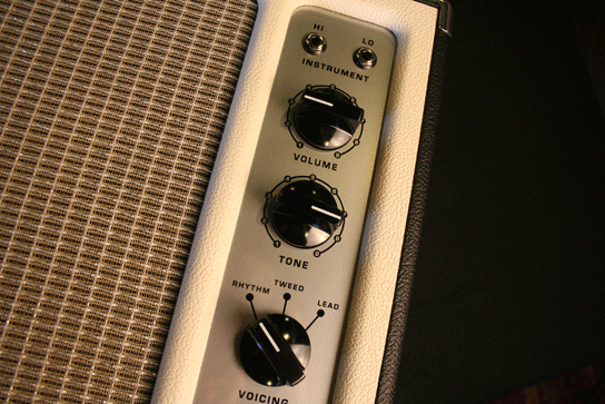 Tone King Falcon Blonde Controls