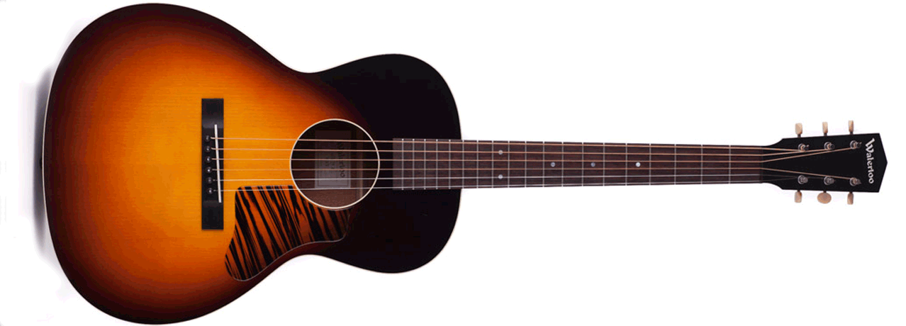 Waterloo Guitars by Collings WL-14L with T-Bar (Sunburst) Full View