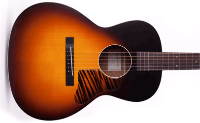 Waterloo Guitars by Collings WL-14L with T-Bar (Sunburst) Body
