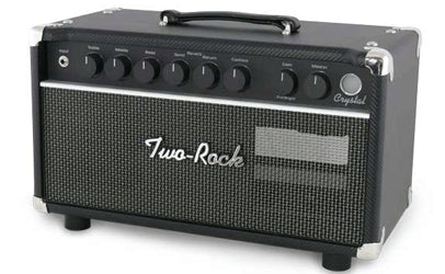 Two Rock Crystal 22 Watt Head Black Front