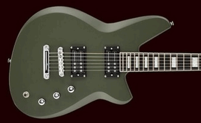 Reverend Bayonet Army Green Rail Hammer Pickups