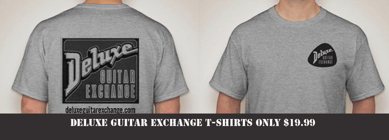 Deluxe Guitar Exchange T-Shirts Sale