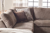 Angora Tabby Chaise Sectional