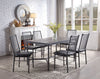 Industrial Farm House Dining Set