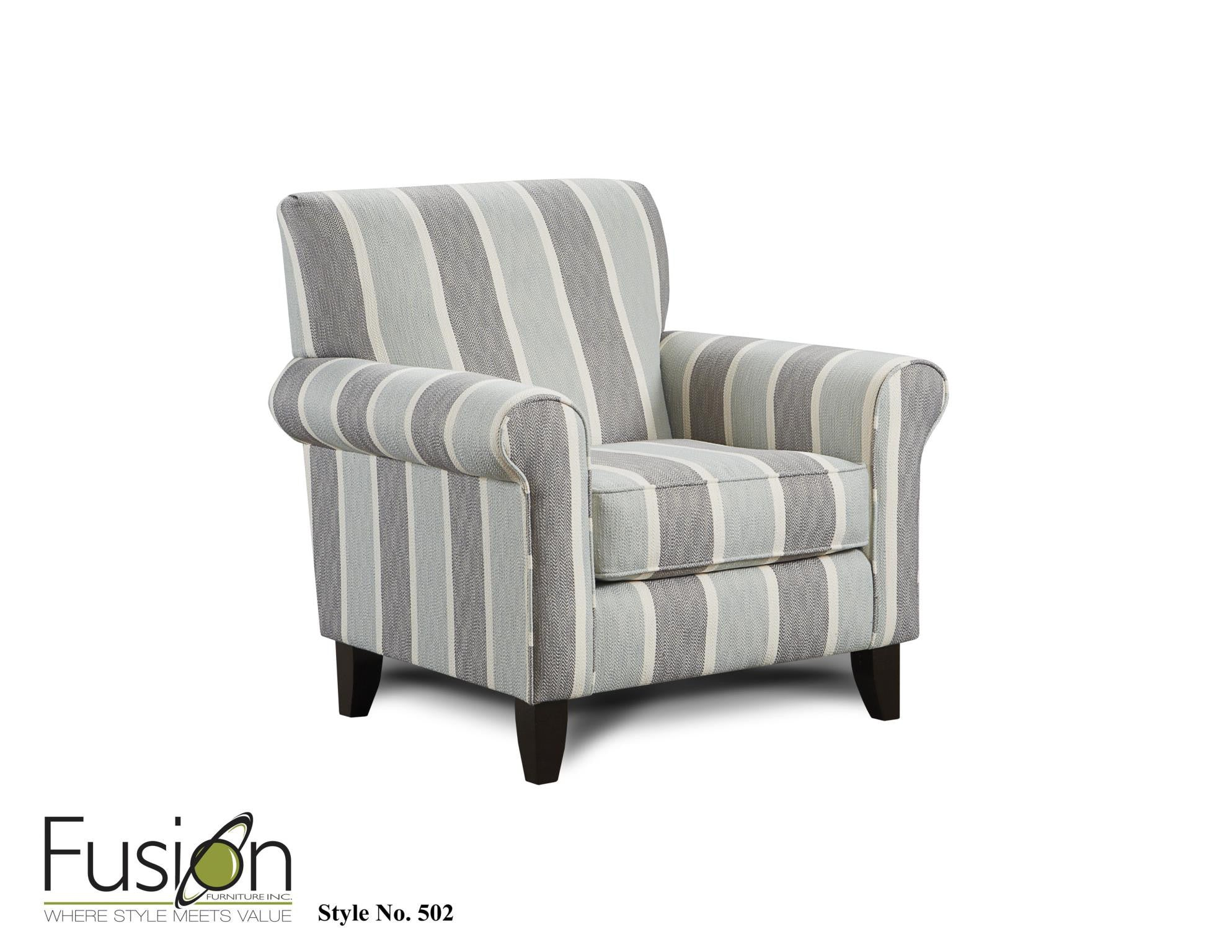 Fusion Grande Mist Sofa and Loveseat