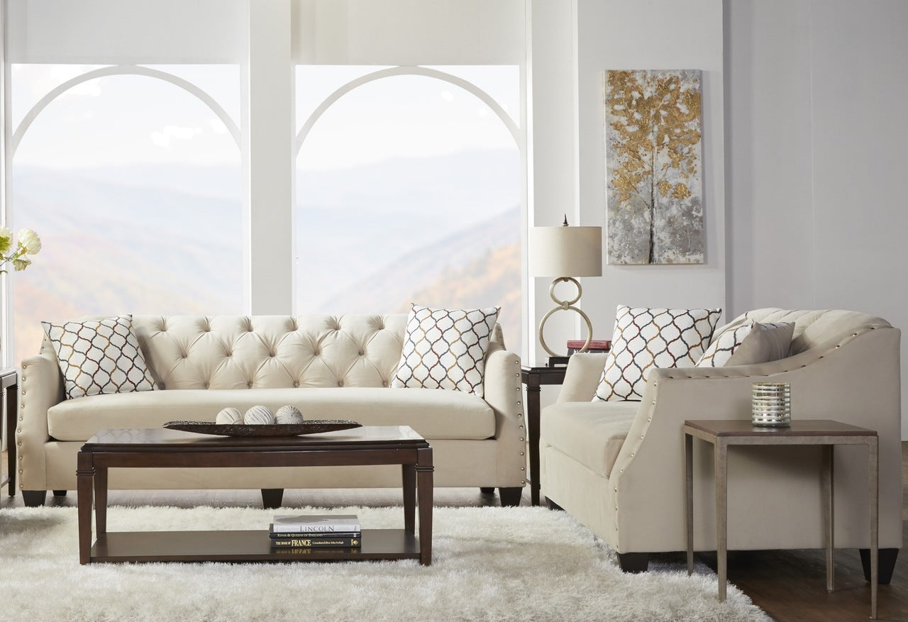 Bing Barley Sofa and Loveseat