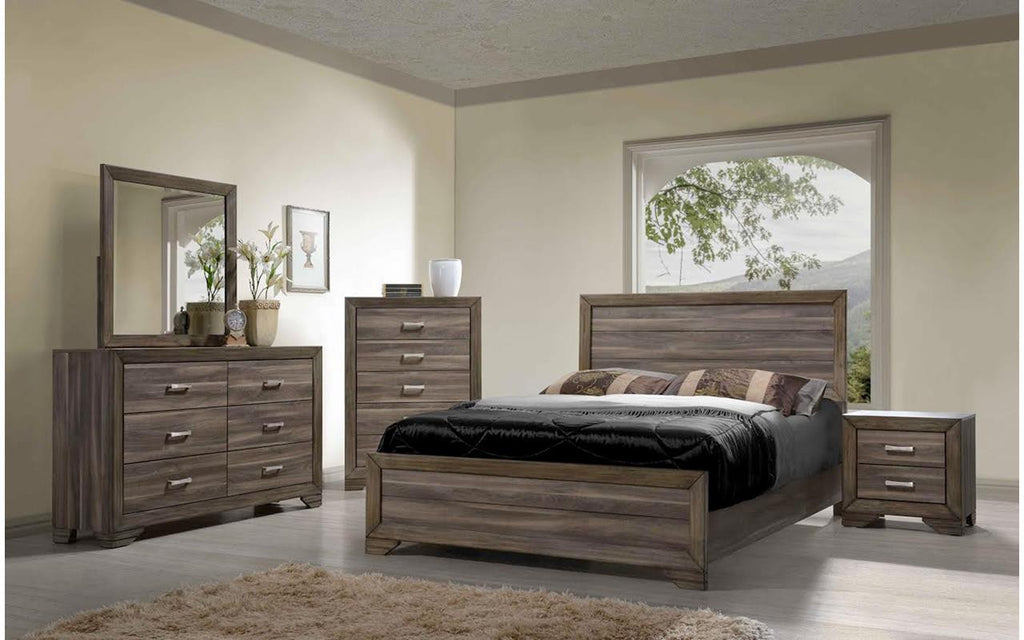 Asheville Driftwood King Bedroom Set | My Furniture Place