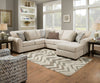 Boston Linen Chaise Sectional