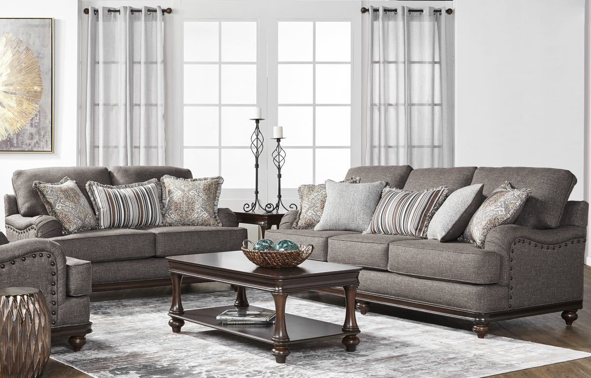 Phineas Driftwood Sofa and Loveseat
