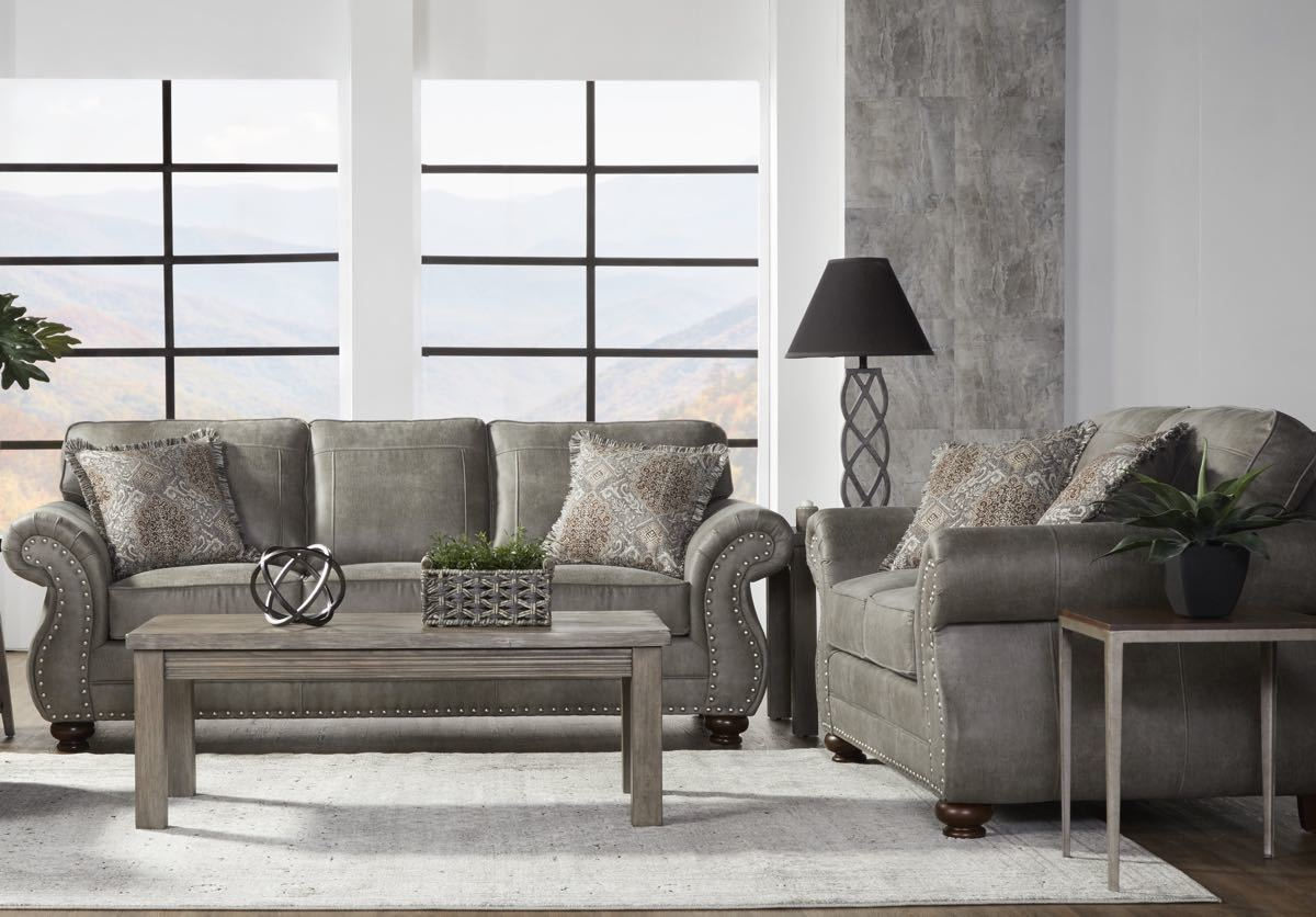 Goliath Mica Sofa and Loveseat