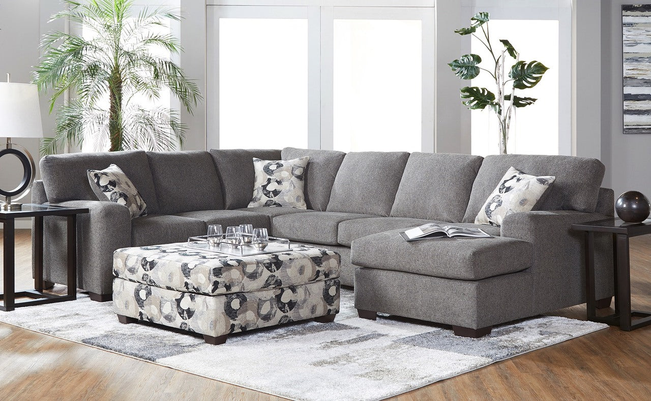 Camelot Blackstone Chaise Sectional