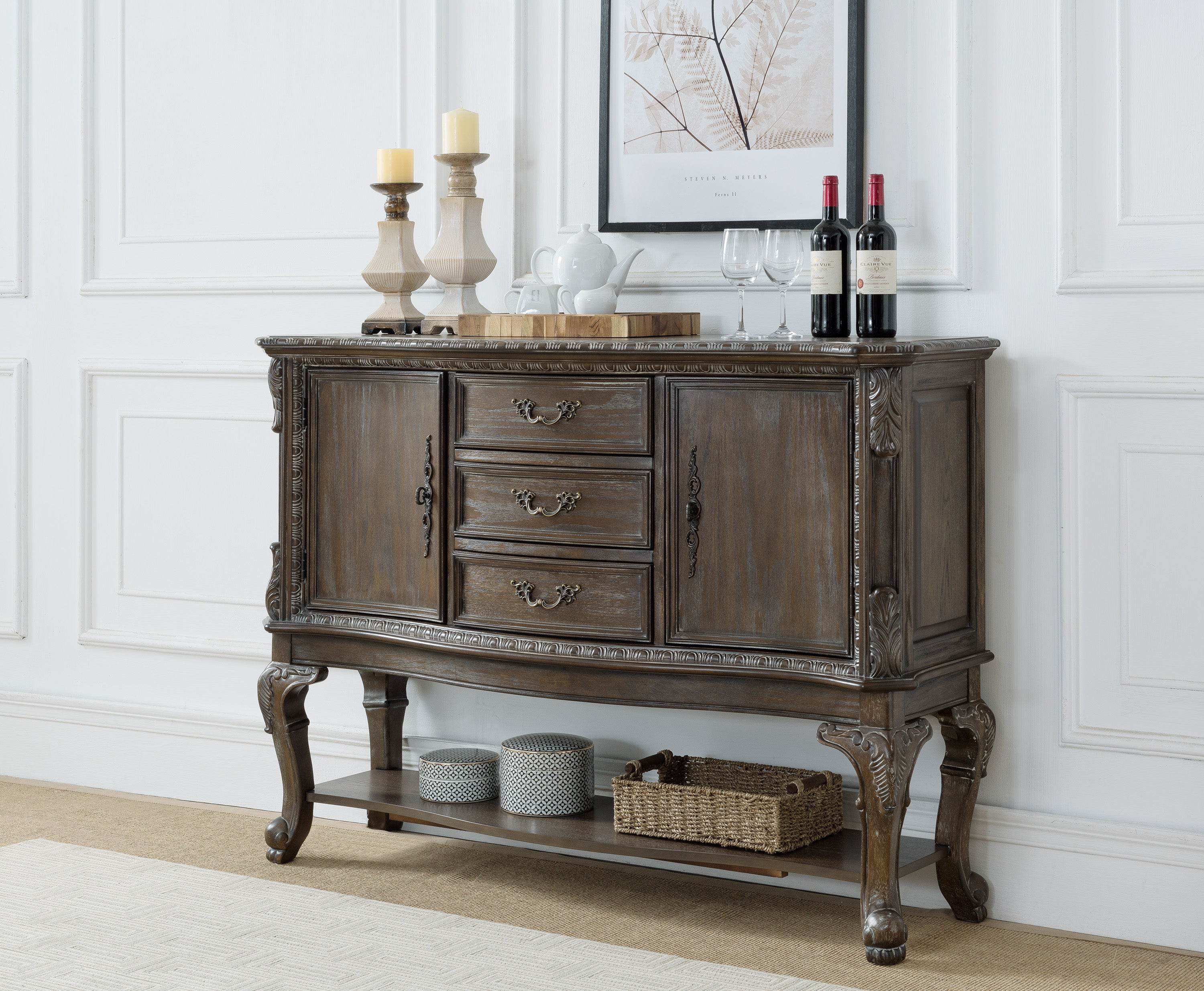 Kiera Grey Formal Dining Sideboard