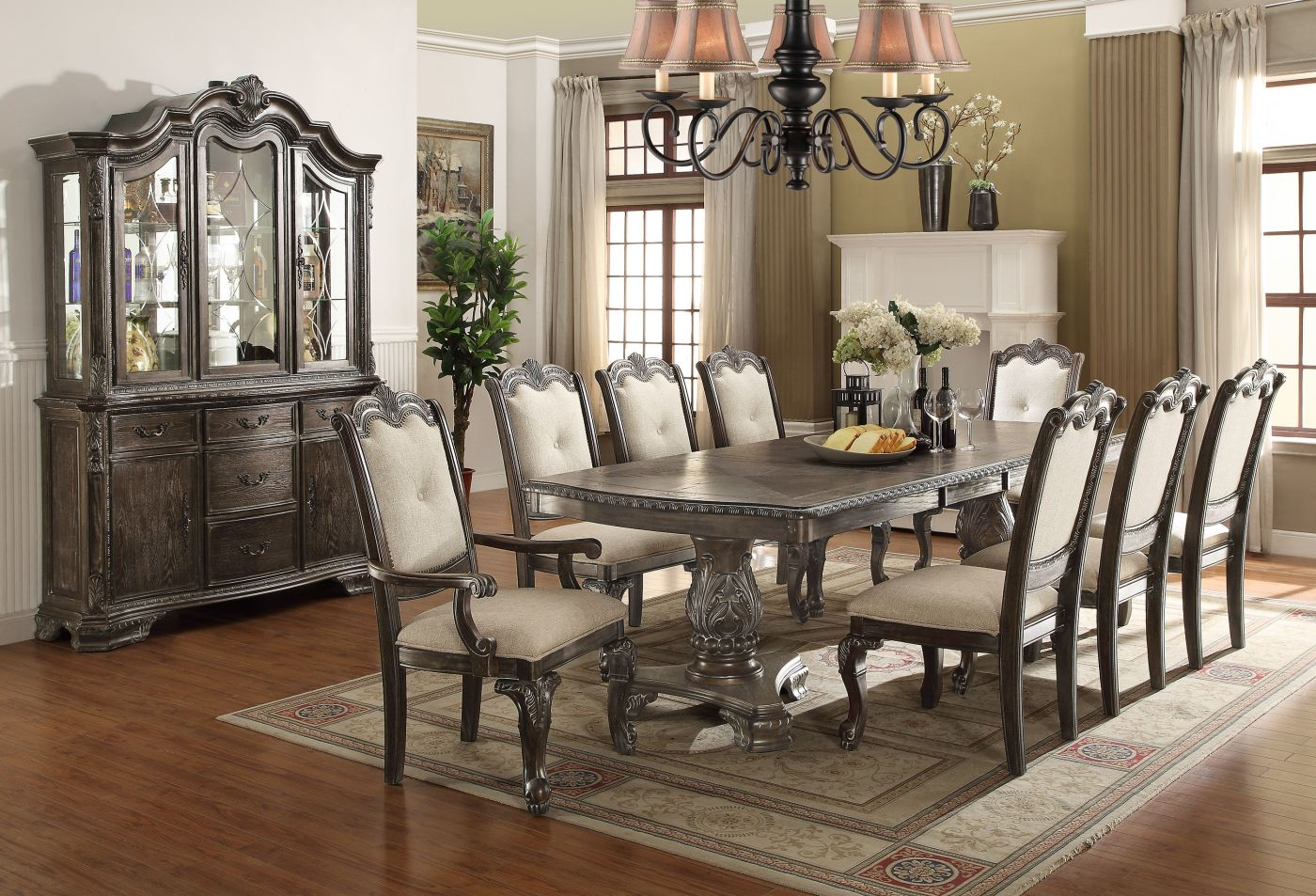 Kiera Grey Formal Dining Collection