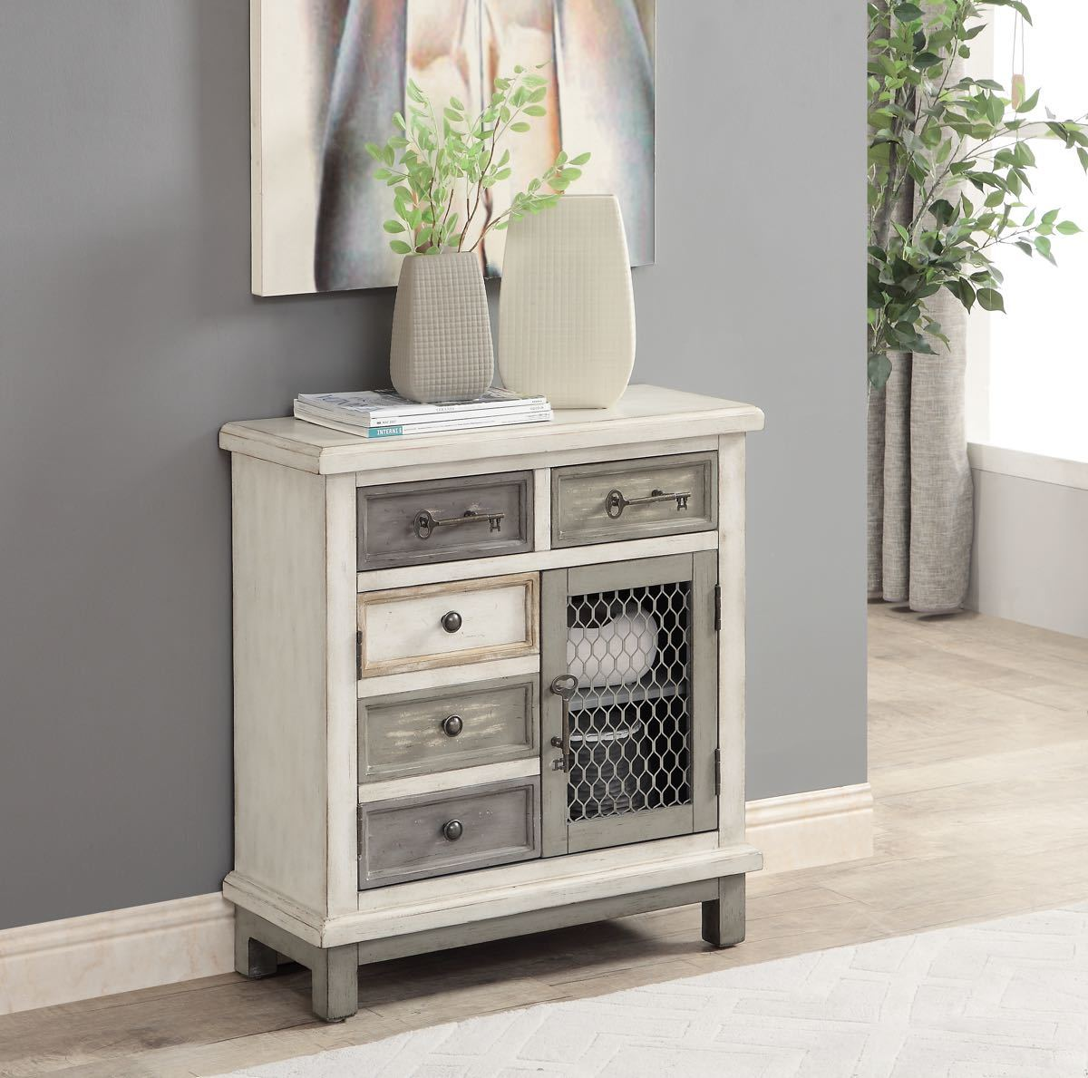 Keystone Multi Color Cabinet My Furniture Place