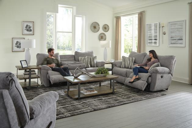 Mica Sadler Reclining Sofa and Loveseat