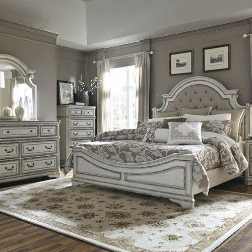 North Shore Sleigh King Bedroom Set By Ashley Furniture