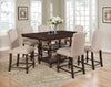 Langley Taupe Counter Height Dining Set