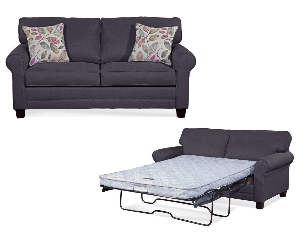 Jitterbug Gray Sleeper Sofa by Serta Upholstery