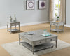 Storage Gray Lift Top Coffee Table Set