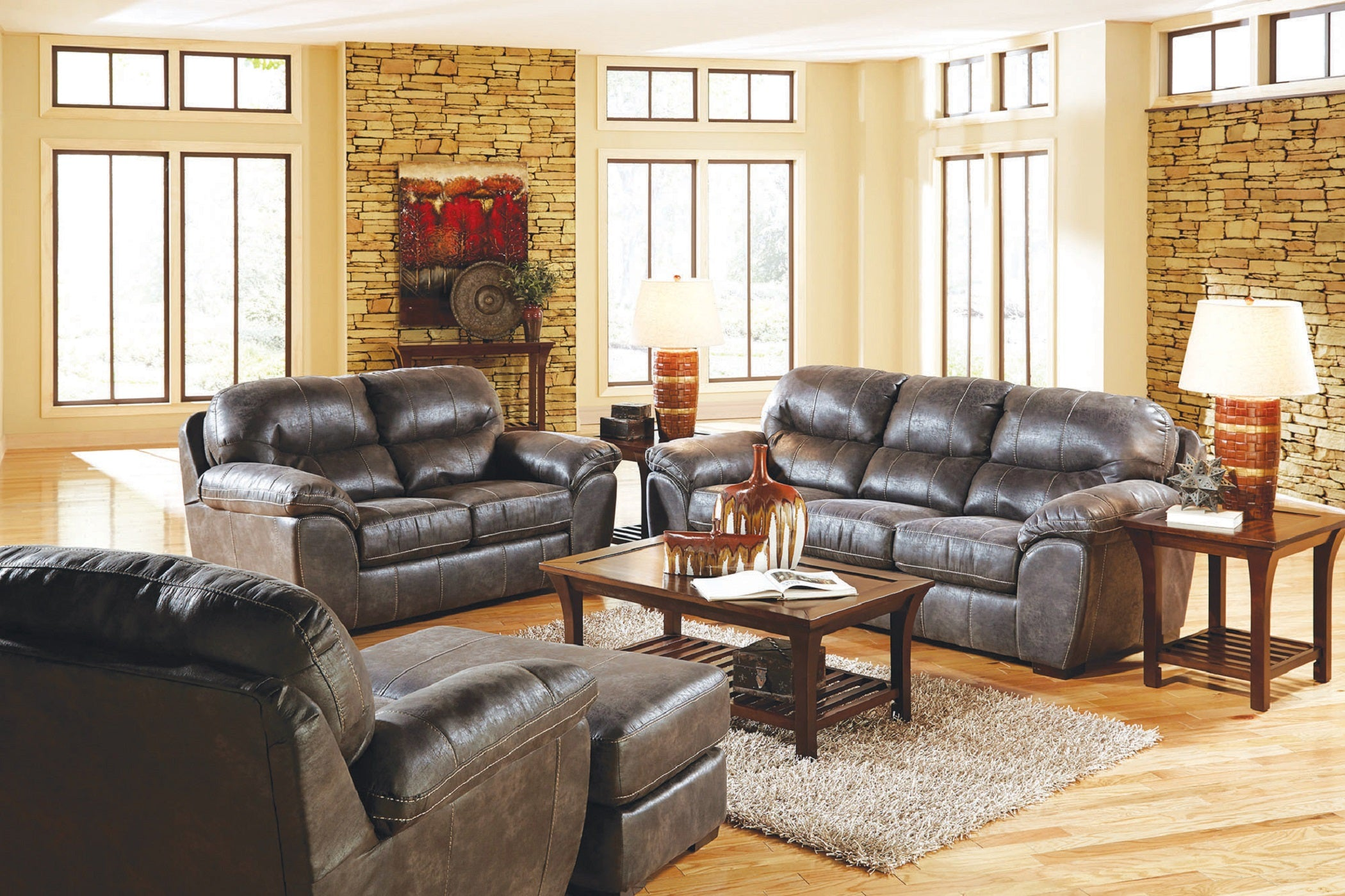 Catnapper Silt Sofa and Loveseat
