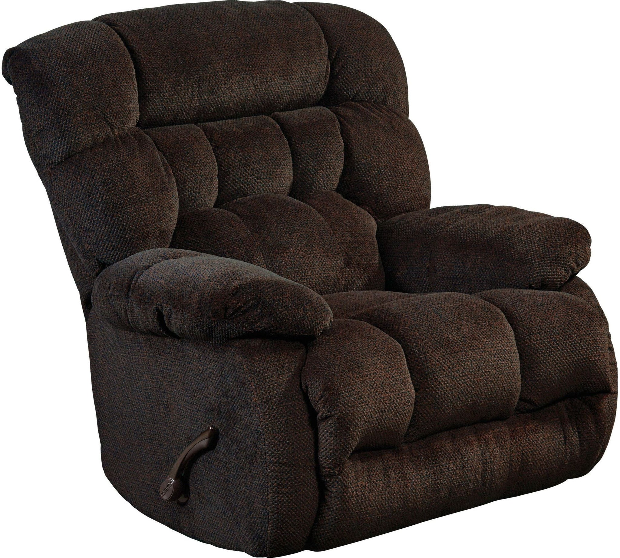 Daly Chocolate Chaise Rocker Recliner