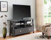 Contemporary Gray Entertainment Console