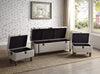 Upholstered Accent Storage Trunks