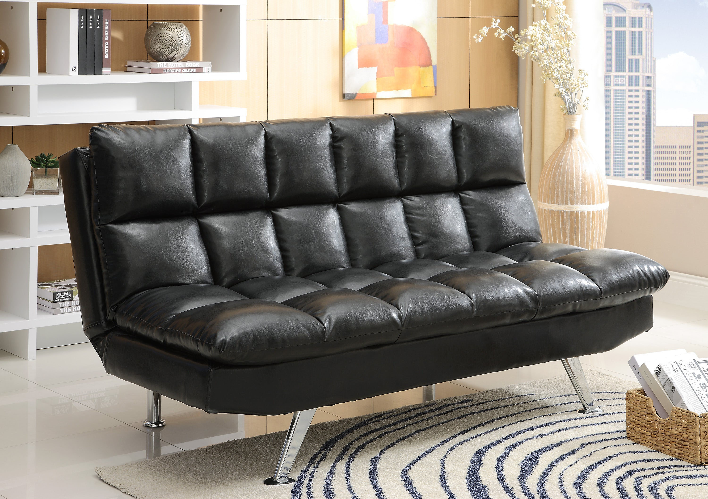 Black Futon Sofa