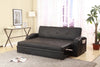 Easton Black Trundle Sofa