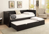 Espresso Trundle Daybed