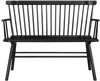 Jeremiah Black Accent Bench