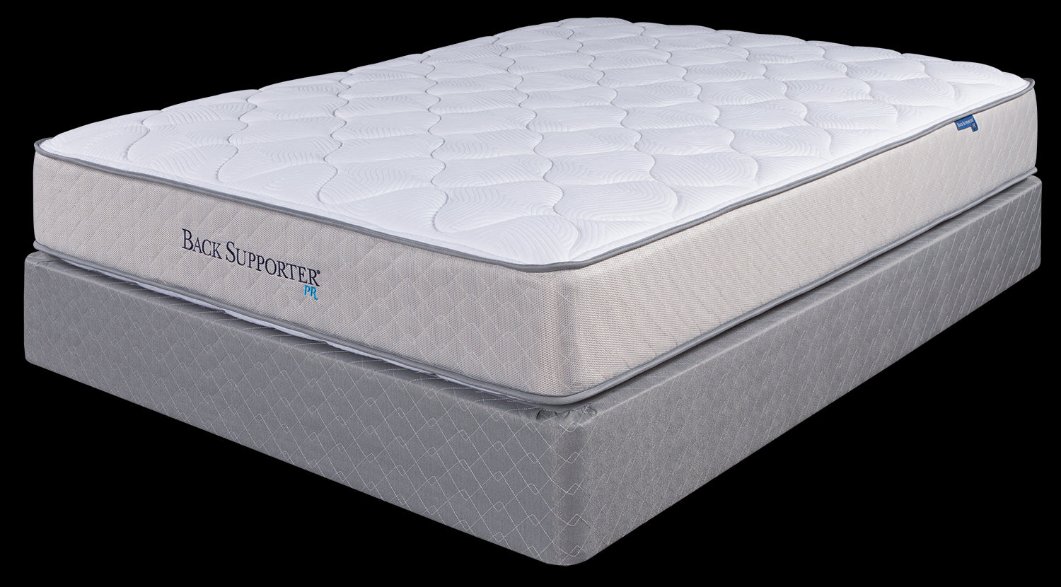 Spring Air Queen Plush Dual Sided Back Support Mattress Set
