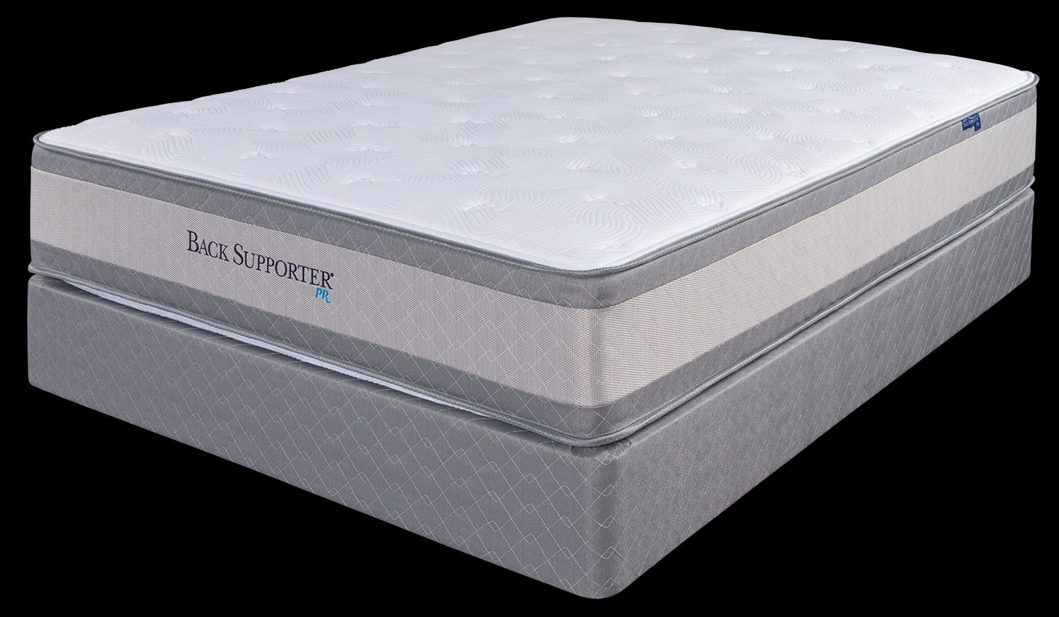 Spring Air King Perfect Rest Back Support Mattress Set