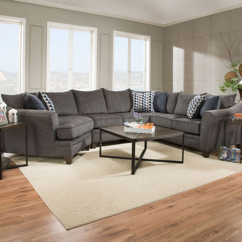 Waylon Mocha Glider Reclining Sofa And Loveseat My