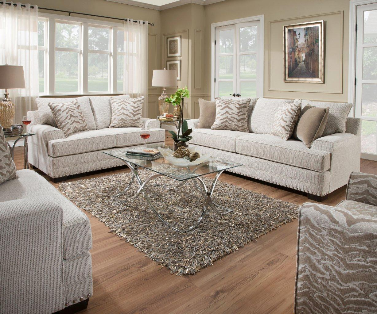 Grenada Natural  Sofa and Loveseat