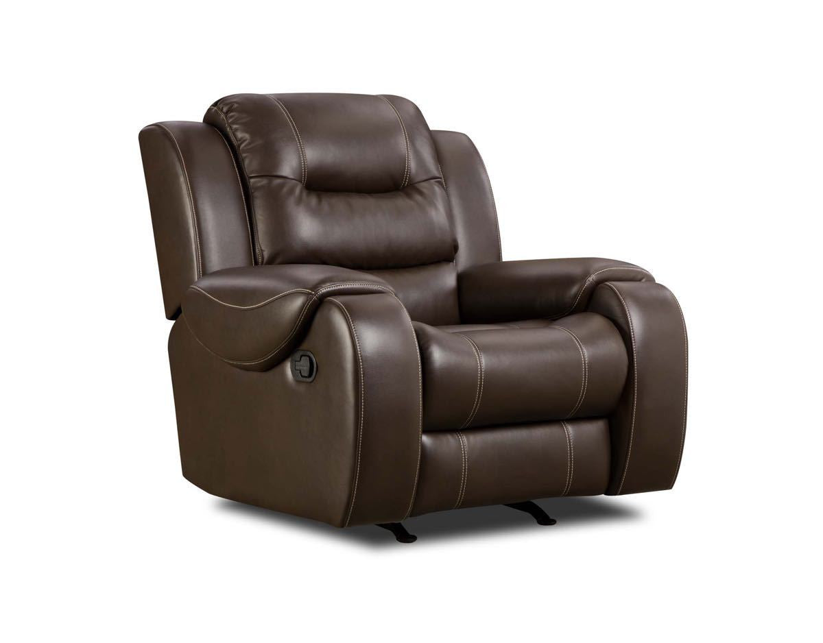Jamestown Umber Recliner by Corinthian Furniture , recliner - Corinthian Furniture, My Furniture Place