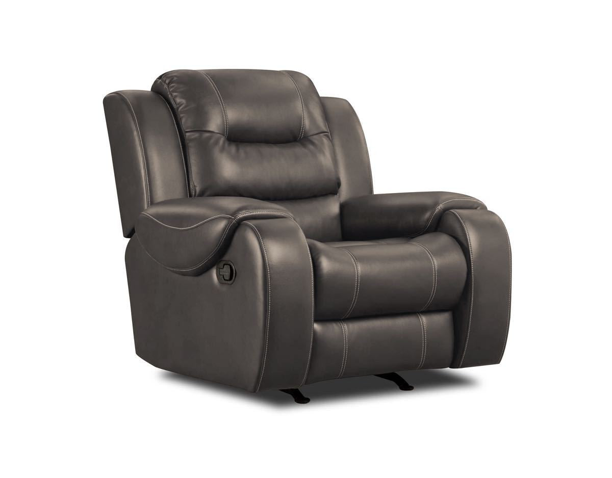Jamestown Smoke Recliner by Corinthian Furniture , recliner - Corinthian Furniture, My Furniture Place