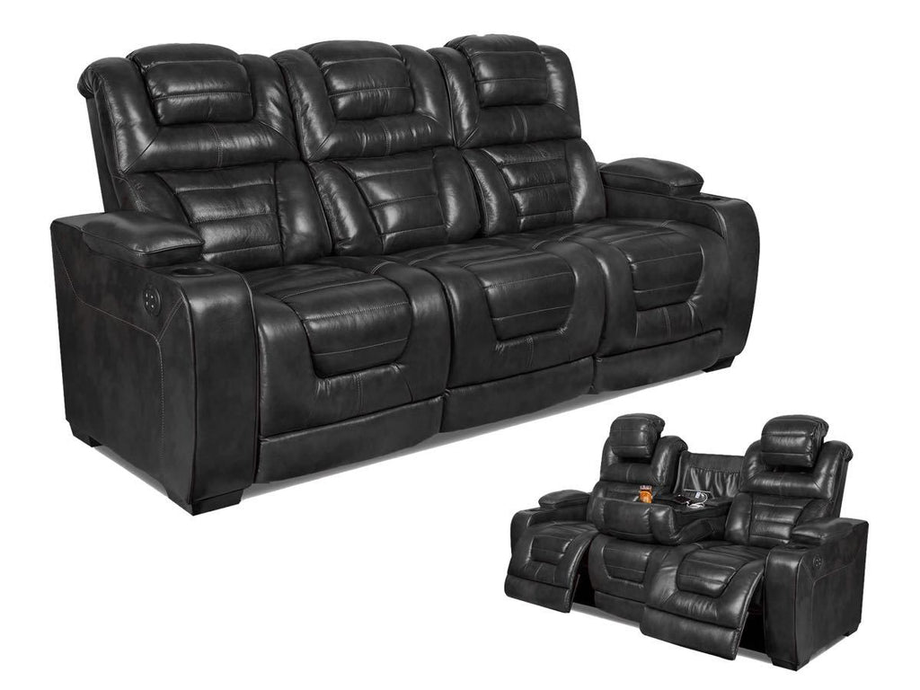 Desert Eclipse Power Reclining Sofa and Loveseat  sc 1 st  My Furniture Place : black loveseat recliner - islam-shia.org