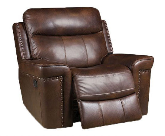 Italian Leather Softie Driftwood Reclining Sofa and Loveseat | My ...