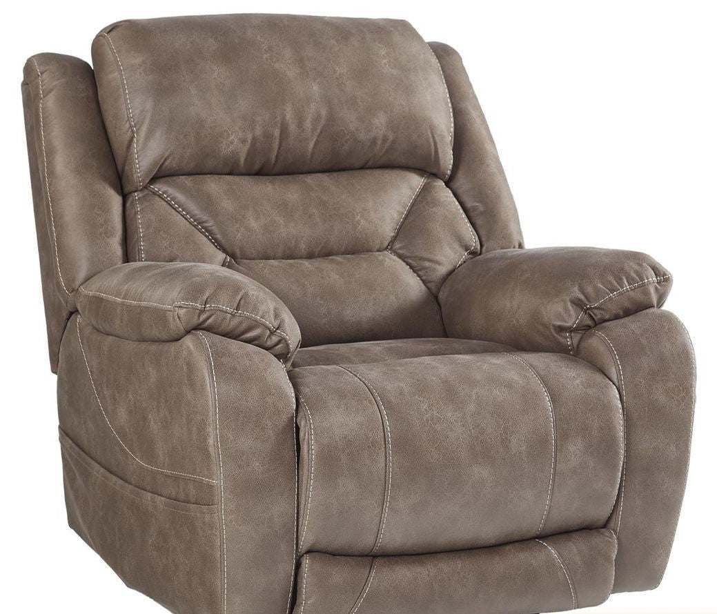 Desert Mushroom Usb Power Recliner My Furniture Place