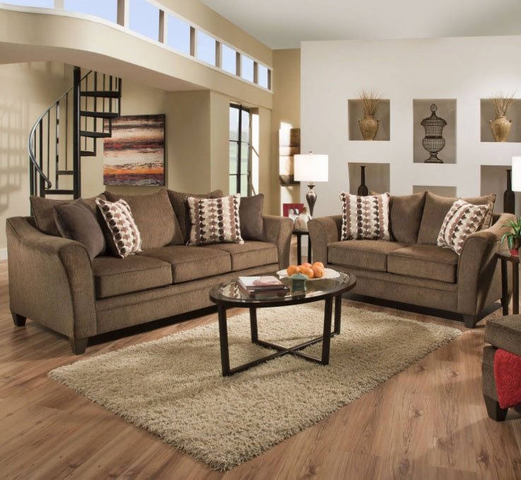 Stupendous Burbank Henna Queen Sleeper Sofa By Serta Upholstery Ocoug Best Dining Table And Chair Ideas Images Ocougorg