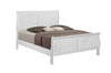 White King Size Sleigh Bedroom Set