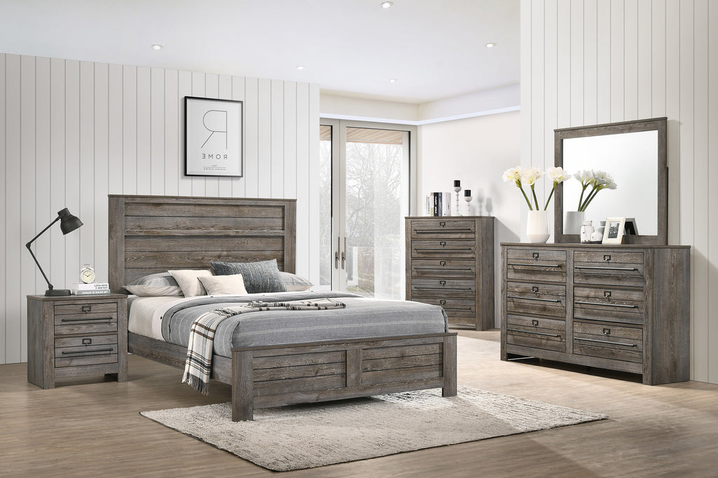 Antique Filing Cabinet Gray Queen Bedroom Set My Furniture Place