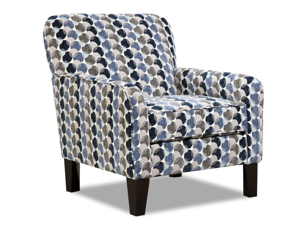 Bubbles Ink Accent Chair